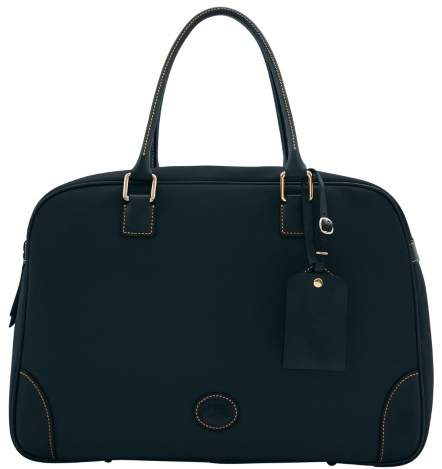 Dooney & Bourke Nylon Bowler Duffle Bag - BLACK BLACK - STYLE