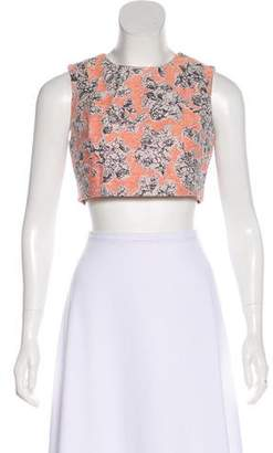 Thakoon Floral Crop Top