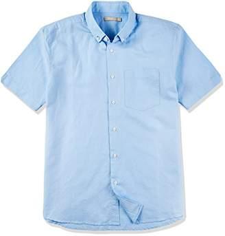 Isle Bay Linens Men's Short Sleeve Toile Woven Standard Shirt