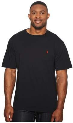 Polo Ralph Lauren Big and Tall Classic Fit Crew Neck Pocket T-Shirt Men's T Shirt