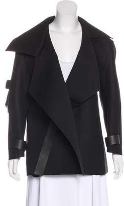 Esteban Cortazar Wool-Blend Neoprene Jacket w/ Tags