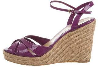 440e3028e690bc Pre-Owned at TheRealReal · Gucci Embossed GG Wedges
