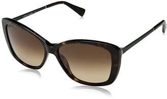 Cole Haan Women's Ch7005 Plastic Butterfly Cateye Sunglasses