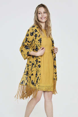Y.A.S Tall Glory Fringed Kimono
