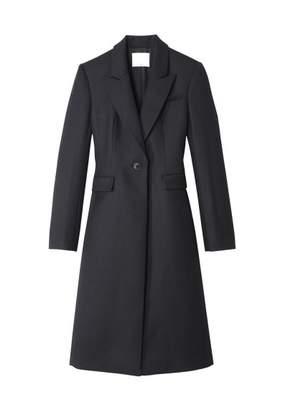 Tibi Luxe Wool Tuxedo Coat