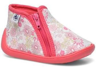 Petit Bateau Kids's PB Arle F Hi-top Slippers in Pink