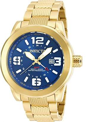 Invicta Men's 'Coalition Forces' Quartz Gold-Tone and Stainless Steel Casual Watch