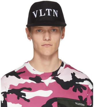 Valentino Black Garavani VLTN Cap