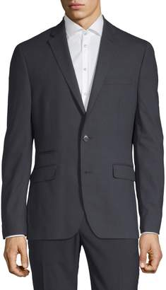 Kenneth Cole Reaction Slim-Fit Mini Grid Suit Jacket