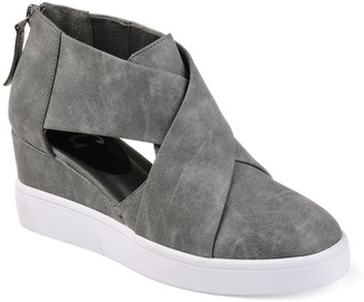 Journee Collection Seena Women's D'Orsay Wedge Sneakers