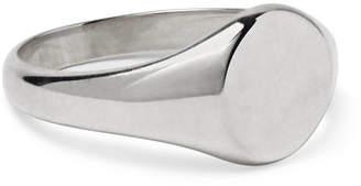Miansai Sterling Silver Signet Ring