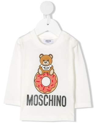 Moschino Kids teddy bear print top
