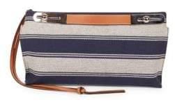 Loewe Small Missy Striped Leather Shoulder Bag
