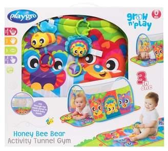 Playgro Honey Bee Bear Activity Tunnel Gym