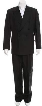 Dolce & Gabbana Satin-Trimmed Linen Tuxedo