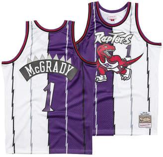 Mitchell   Ness Men Tracy McGrady Toronto Raptors Split Swingman Jersey d9ec8d396459