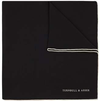 Turnbull & Asser Solid Pocket Square