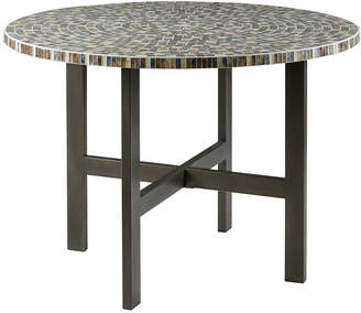 INK + IVY Ink + Ivy Mosaic Round Dining Table