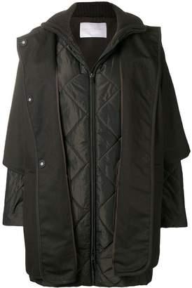 Fabiana Filippi padded sleeved coat