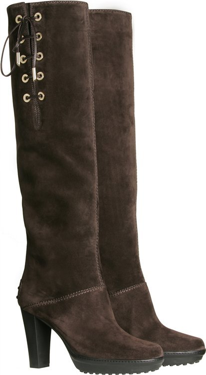 Tod's Aspen Suede Boots