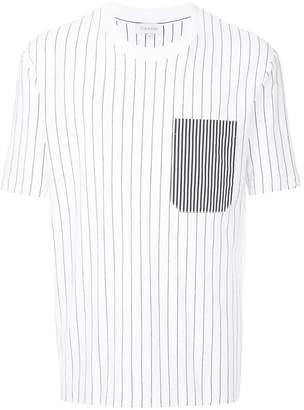 CK Calvin Klein honest stripe jersey T-shirt