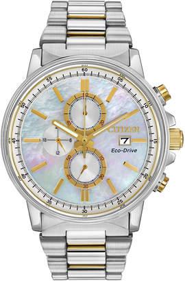 Citizen 42mm Chronograph Bracelet Watch