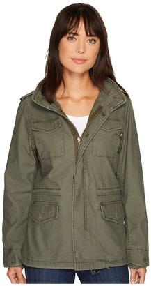 Alpha Industries - M-65 Defender Field Coat Women's Coat $180 thestylecure.com