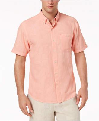 Tommy Bahama Men's Desert Fronds Floral-Jacquard Camp Shirt