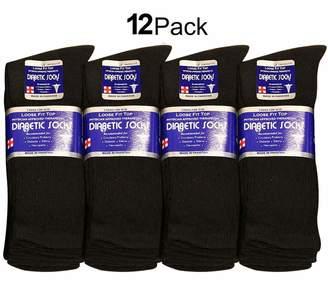 Falari Diabetic Socks Men Unisex Size 10-13 6 Pairs