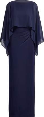 Lauren Ralph Lauren Ralph Lauren Crepe-Overlay Gown
