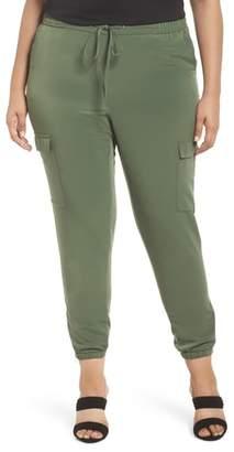 Sejour Zip Ankle Jogger Pants