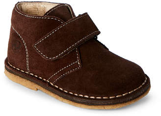 Naturino Toddler/Kids Boys) Brown Suede Chukka Booties