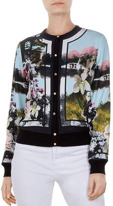 Ted Baker Windemere Print Cardigan