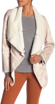 Laundry by Shelli Segal Faux Shearling Jacket