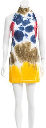 DSQUARED2 Tie-Dye Mini Dress