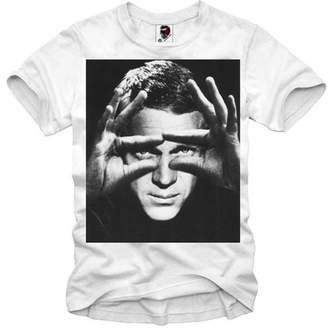 Eleven Paris E1syndicate T-Shirt Steve Mcqueen The King Of Cool Bullit