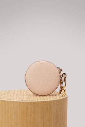 Chloé Leather round wallet
