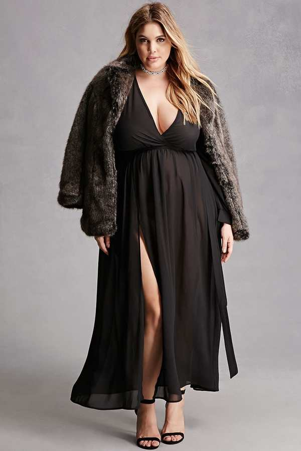 Forever 21 FOREVER 21+ Plus Size Maxi Dress