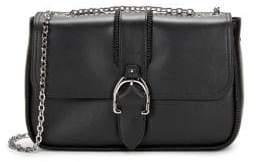 Longchamp Amazone Boxed Leather Crossbody Bag