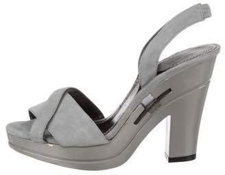Diane von Furstenberg Crossover Slingback Sandals