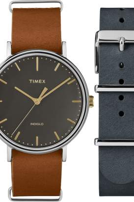 Timex Unisex Fairfield Box Set Watch TWG016500