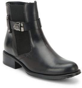 Aquatalia Ulrika Leather Ankle Boots