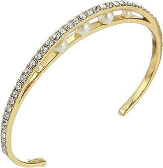 Vince Camuto Women's Trapped Pearl Cuff Bracelet