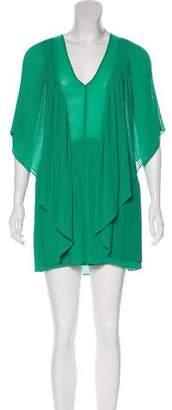 By Malene Birger Plissé Mini Dress w/ Tags