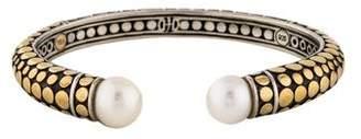 John Hardy Pearl Dot Cuff Bracelet