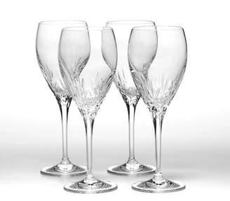 Mikasa Set of 4 Crystal Goblets