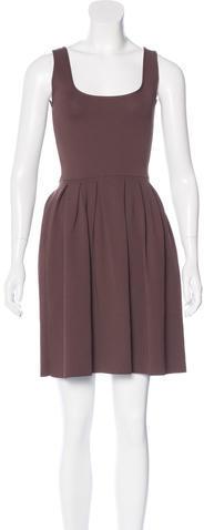 pradaPrada Pleated Knit Dress