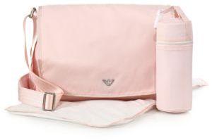 Armani Junior Diaper Bag $280 thestylecure.com