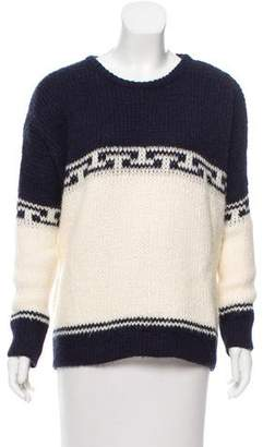 The Great Patterned Crew Neck Sweater
