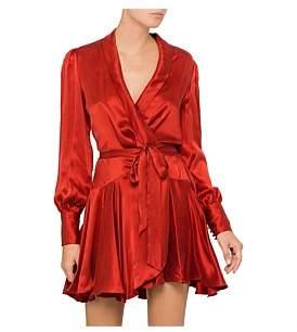 Zimmermann Wrap Mini Dress
